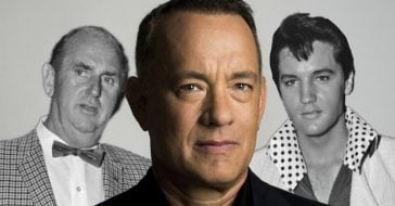 Tom Hanks landed in Australia to start filming the Elvis biopic
