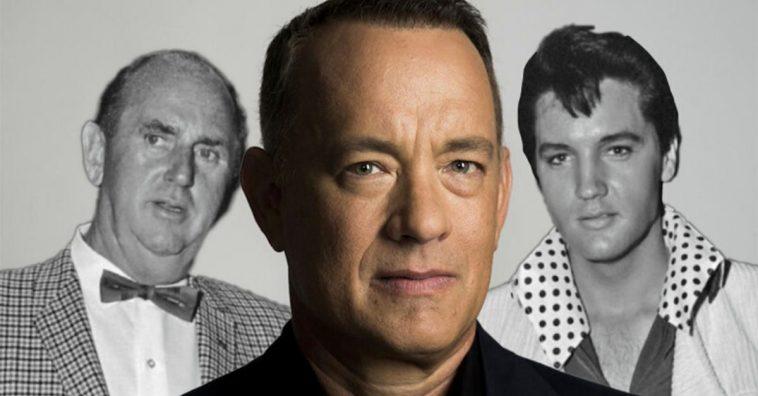 Tom Hanks landed in Australia to start filming the Elvis biopic