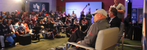 USAA's Salute to Service Lounge offers members of the military a chance to enjoy the NFL up close and personal