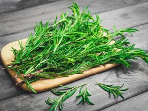 When you're done with the rosemary, cook with it