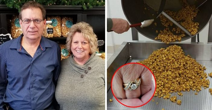 Woman Finds Her Lost Wedding Ring In A Bag Of Popcorn After Missing For A Month