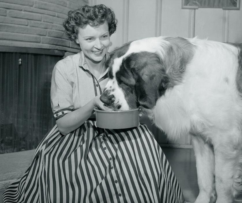 betty white 1950s photos