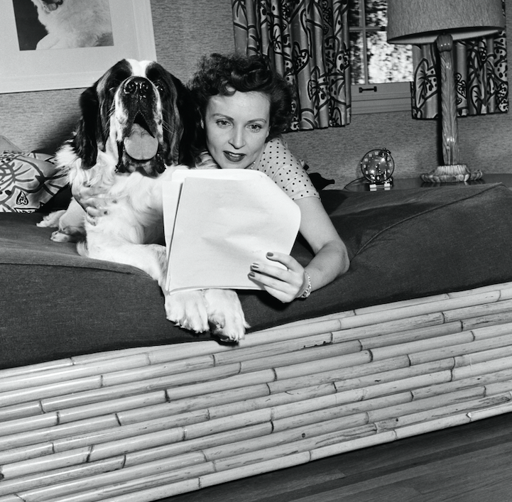 betty white dogs 1950s