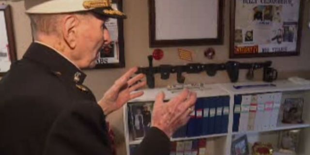 bill white WWII veteran wants valentine's day cards this year