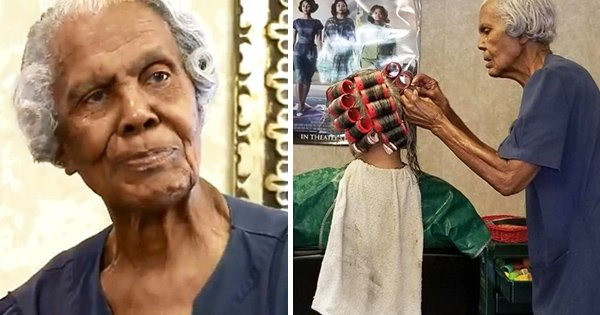 callie terrell is 101 years old and still works as a hair stylist