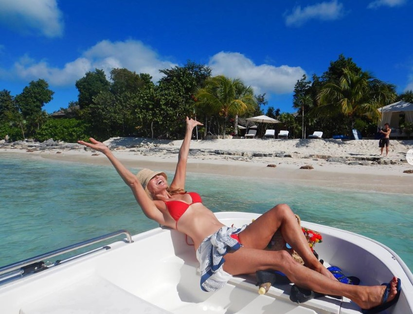 christie brinkley vacation