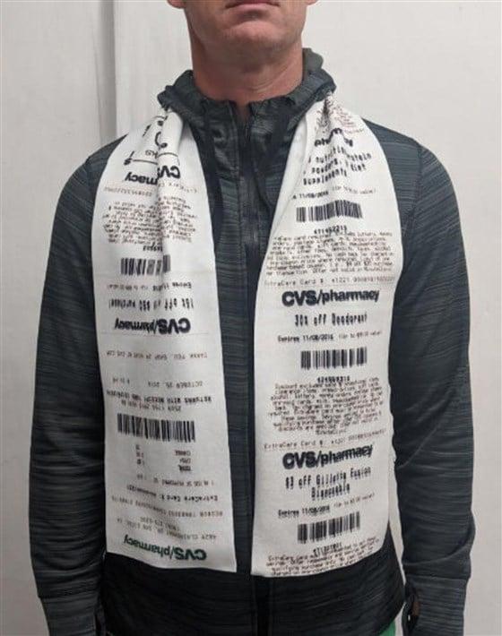 you can buy cvs receipt scarves