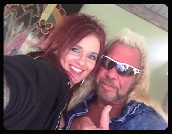 dog the bounty hunter possibly proposes to moon angell