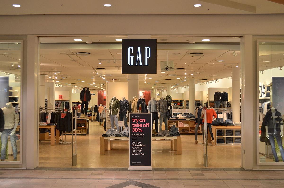 gap store mall