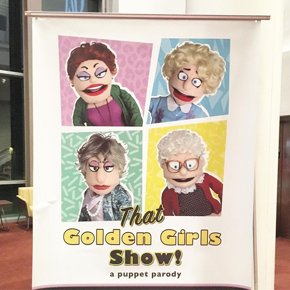 golden girls puppet parody show