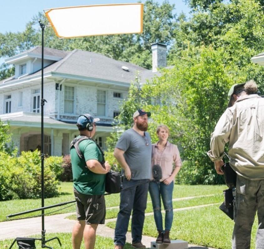 ben and erin napier filming home town hgtv