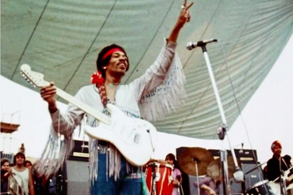 jimi hendrix on why he played the national anthem at woodstock