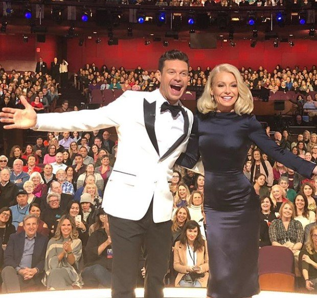 kelly ripa and ryan seacrest live with kelly and ryan