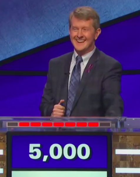 ken jennings says OK Boomer as an answer on jeopardy