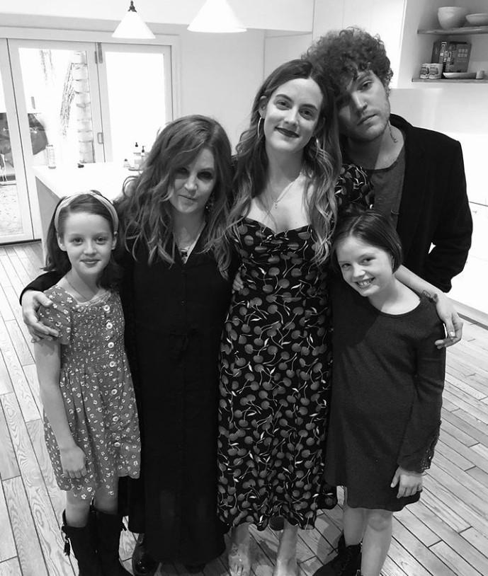 lisa marie presley and kids