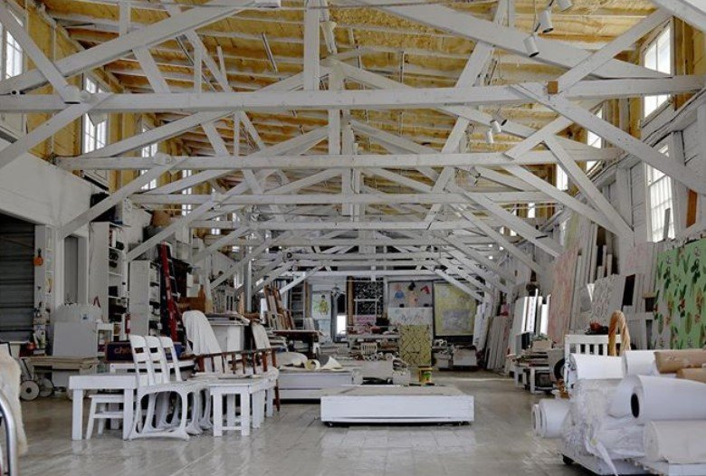 mattress factory turned home and art studio