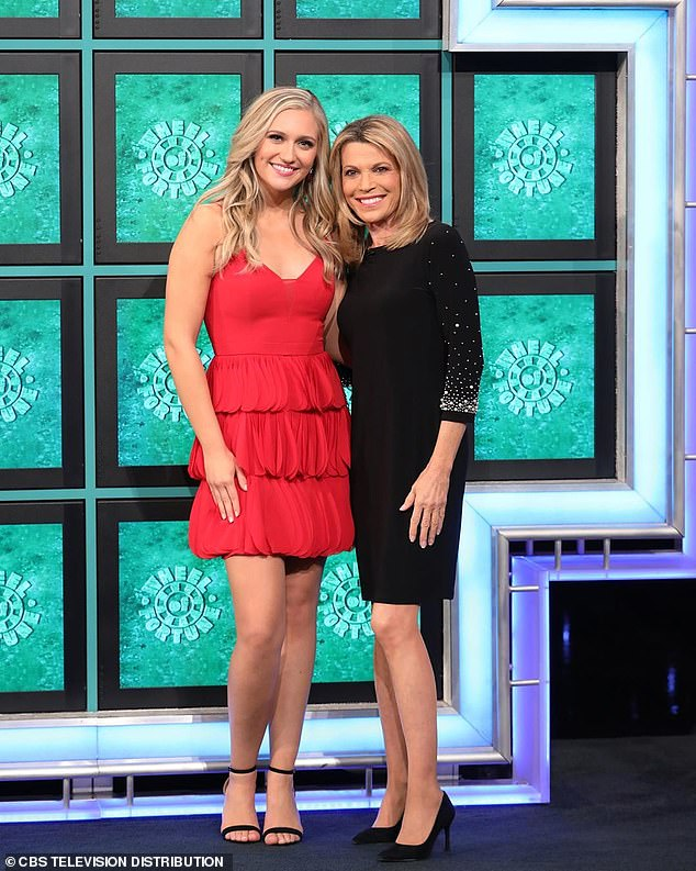 pat sajak's daughter taking over as letter toucher