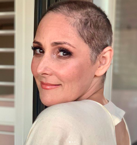 ricki lake shaves her head