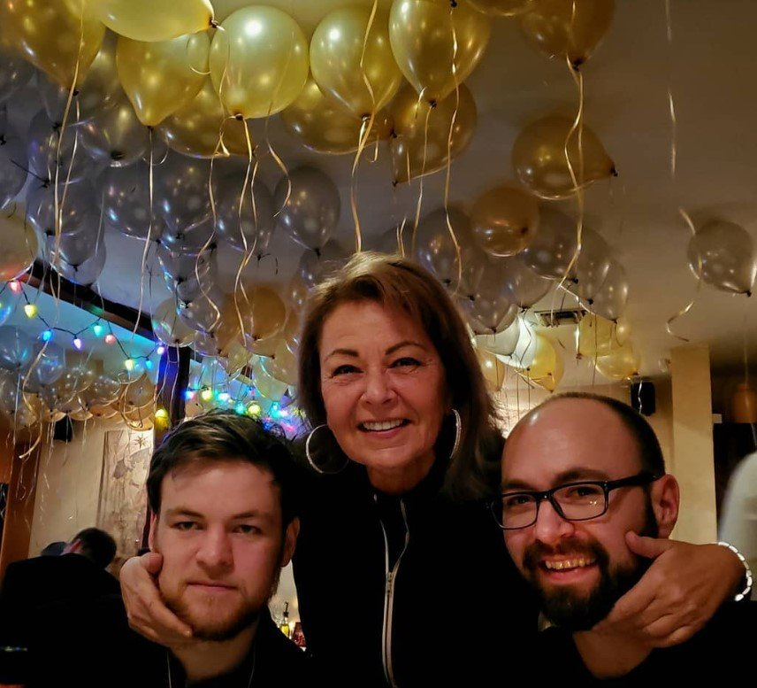 roseanne with buck and jake