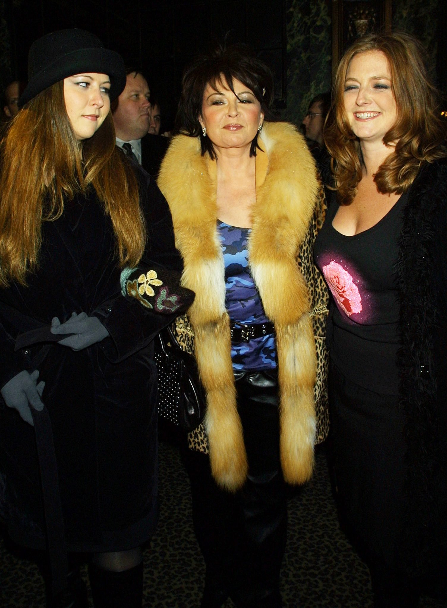 roseanne barr and two daughters