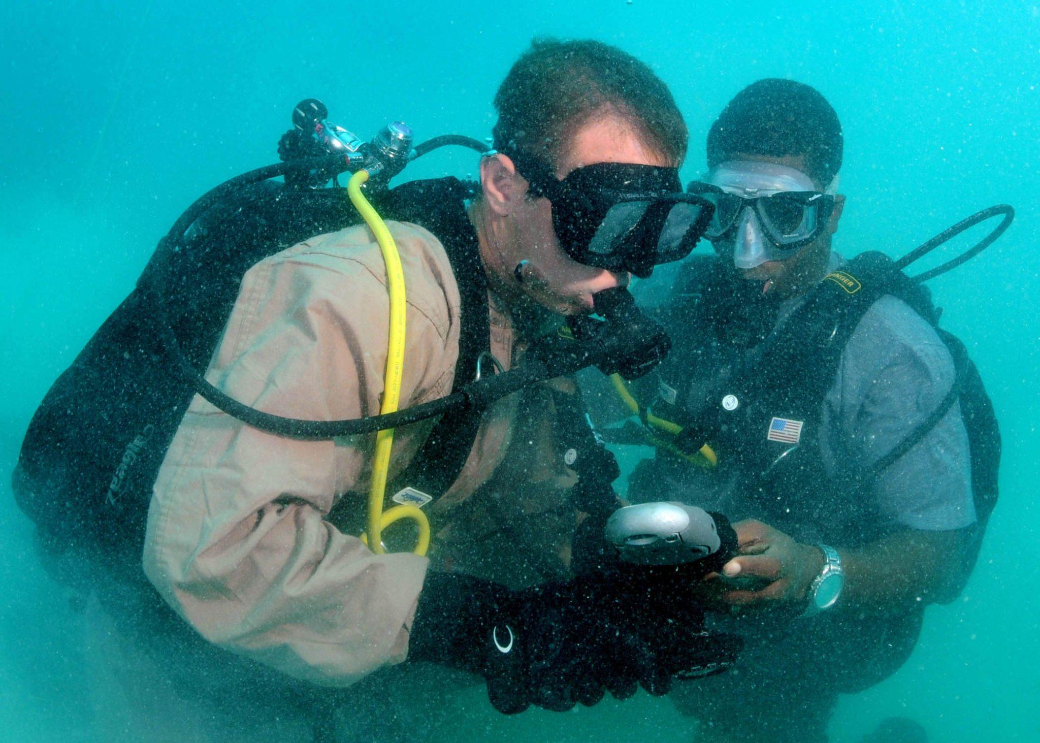 american diver scott jones steve irwin saved his life