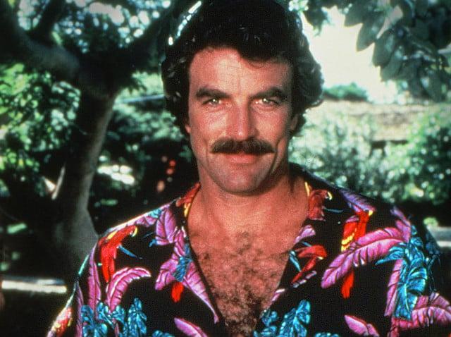 tom selleck magnum pi hawaiian shirt
