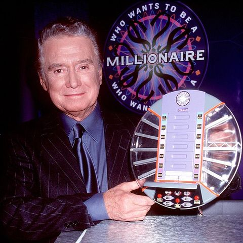 who wants to be a millionaire regis philbin