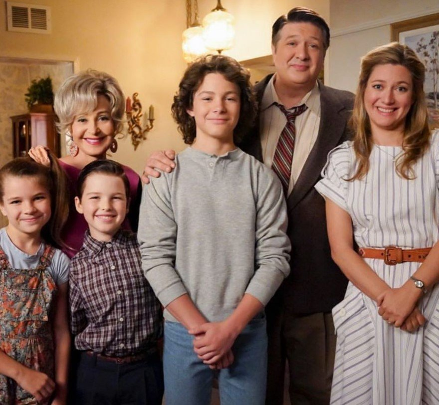 young sheldon cast