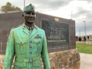 75 years later, the Gila River Indian Community and the country honor this brave man and his endurance