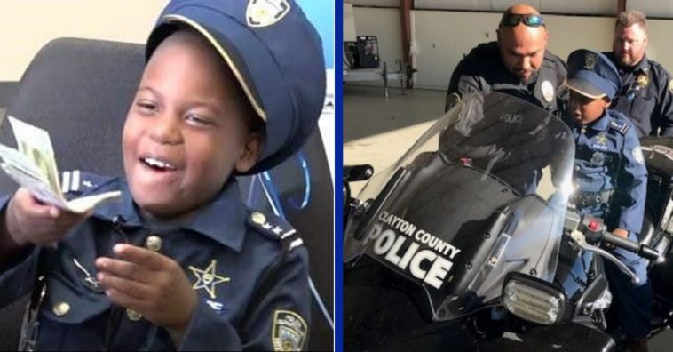8-Year-Old Honorary Georgia Officer Dies After Losing Cancer Battle