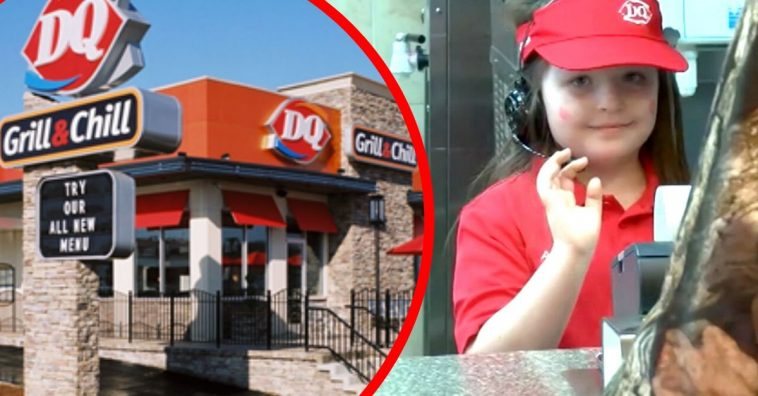 8-Year-Old With Rare Brain Disease Becomes Manager Of Local Dairy Queen