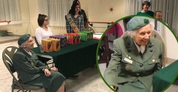 98-Year-Old Girl Scout Still Selling Cookies Today