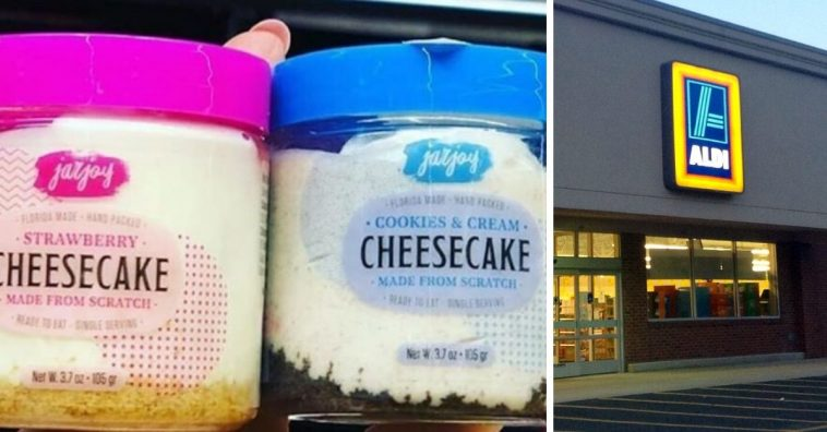 Aldi is selling mini cheesecakes in jars