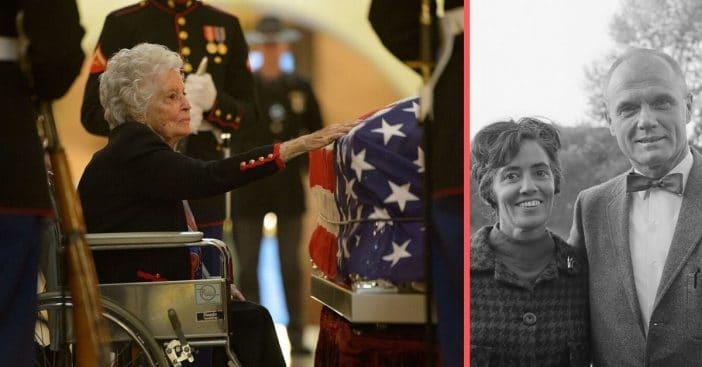 Annie Glenn turns 100 years old