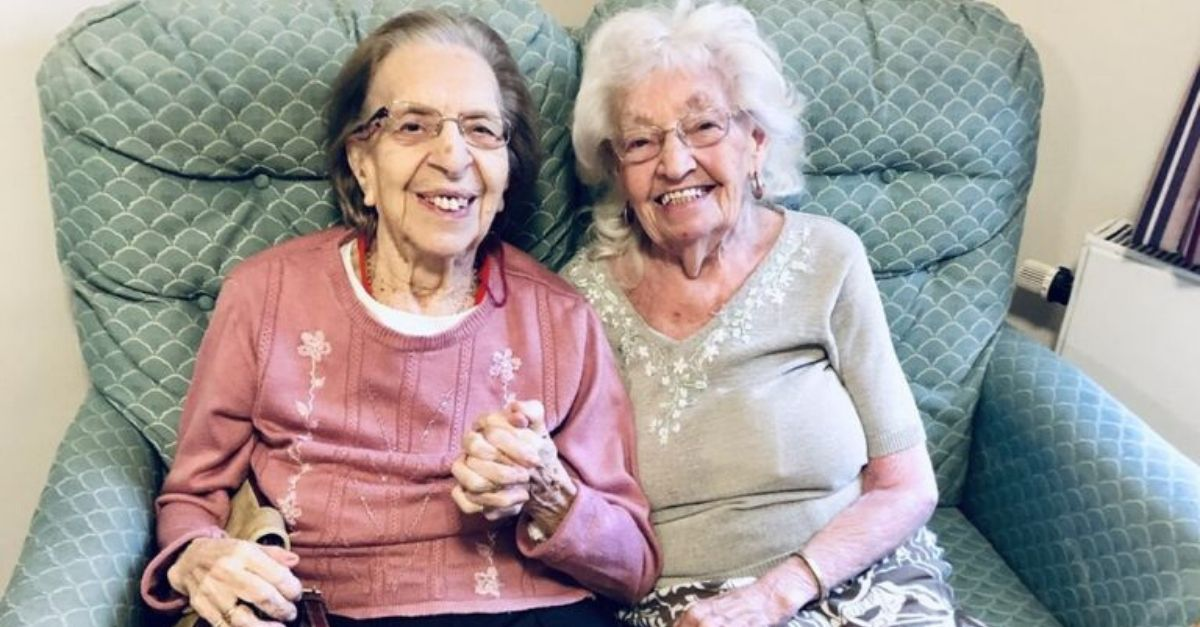 Best Friends Of Almost 80 Years Move Into Senior Care Home Together