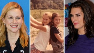 Brooke Shields and Laura Linney were childhood friends