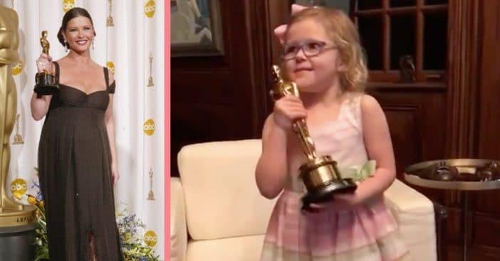 Catherine Zeta-Jones' Niece Ava Makes Perfect Acceptance Speech Like Her Famous Relatives