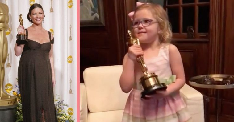 Catherine Zeta-Jones' Niece Ava Makes Perfect Acceptance Speech Like Her Famous Relatives