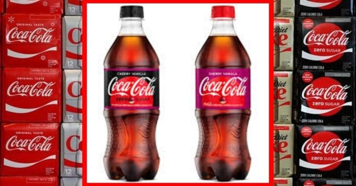 Cherry Vanilla Coke is coming to stores this February