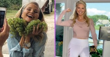 Christie Brinkley says she looks young due to rainbow diet