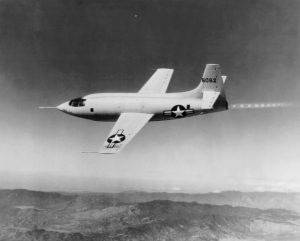 Chuck Yeager broke a major record while on the X-1