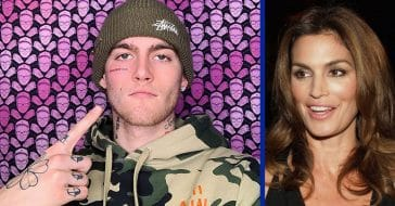 Cindy Crawford's Son, Presley Gerber, Defends His Face Tattoo