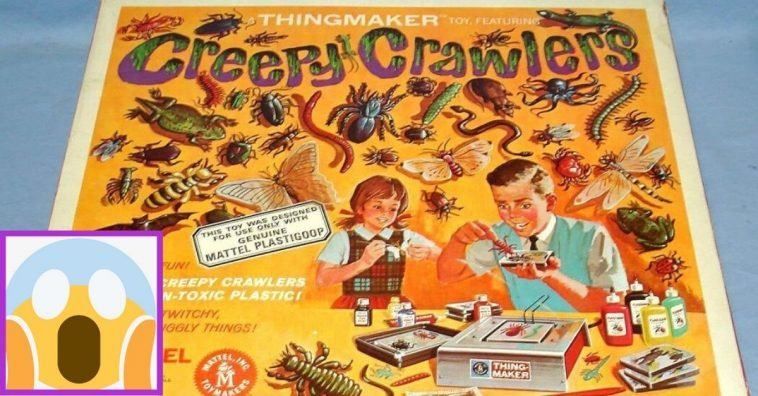 Creepy Crawlers were the classic way to scare anyone