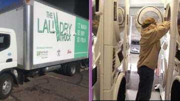 Denver Nonprofit Created A Hot Shower And Laundry Truck For Homeless