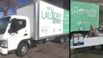 Denver nonprofit offers shower and laundry truck for the homeless