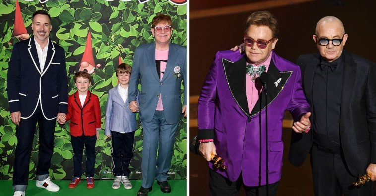 Elton John said his kids are very happy about his Oscar win
