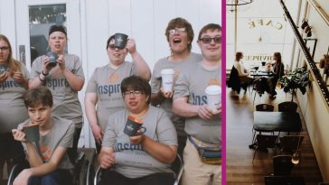 Inspired Cafe Lives Up To Its Name By Employing People With Mild To Moderate Disabilities