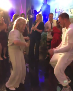 JJ Watt shared an adorable dance with his grandmother after his wedding