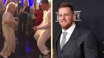 JJ Watt's grandmother stole the show at his wedding party