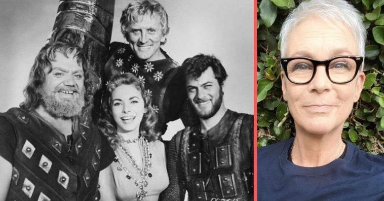 Jamie Lee Curtis says Kirk Douglas saved her life